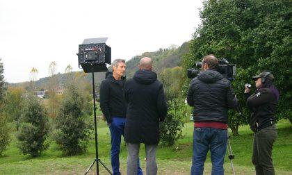 """Luca Gotti intervistato da Sky nel """"suo"""" Montebelluna Golf"""