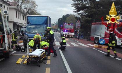 Grave scontro a Treviso, un ferito