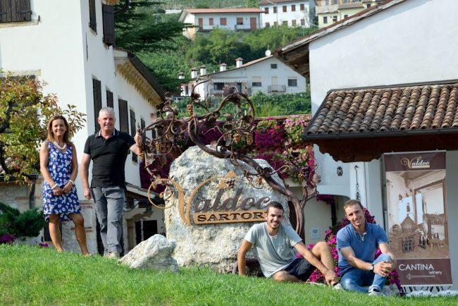Valdoc Sartori, culto del vino nelle colline eroiche
