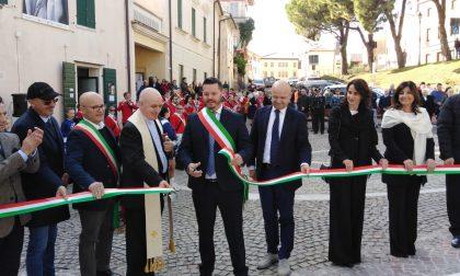 A Possagno inaugurata piazza Antonio Canova
