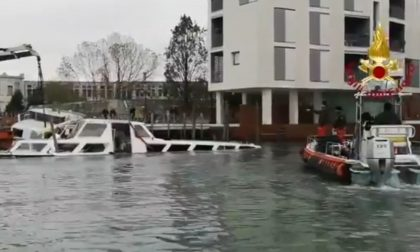 Acqua alta, 700 interventi conclusi dai vigili del fuoco