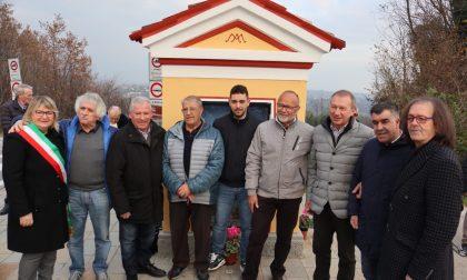 "Tre famiglie restaurano l'antico capitello ""Dei Biaset"""