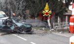 Fuori strada con l'auto: donna ferita