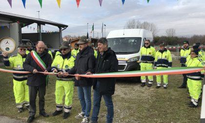 Protezione Civile Ana di Trevignano: consegnate le chiavi del nuovo furgone