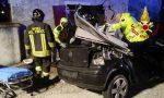 Incredibile incidente: entrano in soggiorno con l'auto!