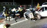 Terribile schianto ieri sera in via Noalese: auto distrutte, tre i feriti