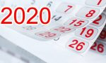 TUTTO 2020: la data palindroma, gli equinozi, le feste e i ponti