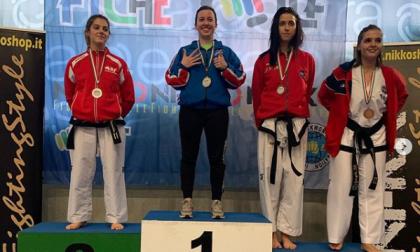 Da Oderzo con furore: Agnese campionessa italiana di Taekwon-do per la sesta volta