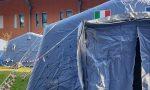 Tende attrezzate all'esterno di alcuni ospedali per effettuare tamponi – FOTO