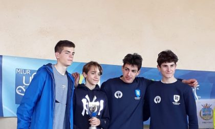 "La squadra del ""Levi"" vince la campestre regionale"