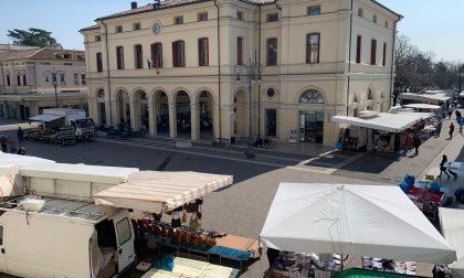 Mercato maggiore Montebelluna, domani si riparte: la mappa con varchi e accessi