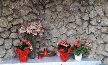 """Ospedaletto di Istrana, sparita nella notte la Madonna della grotta: """"Vergogna"""""""
