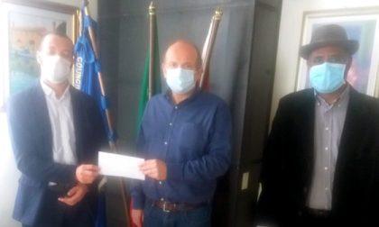 Raccolta fondi Montebelluna, consegnati stamattina 2mila euro per l'emergenza dall'associazione Attawasol