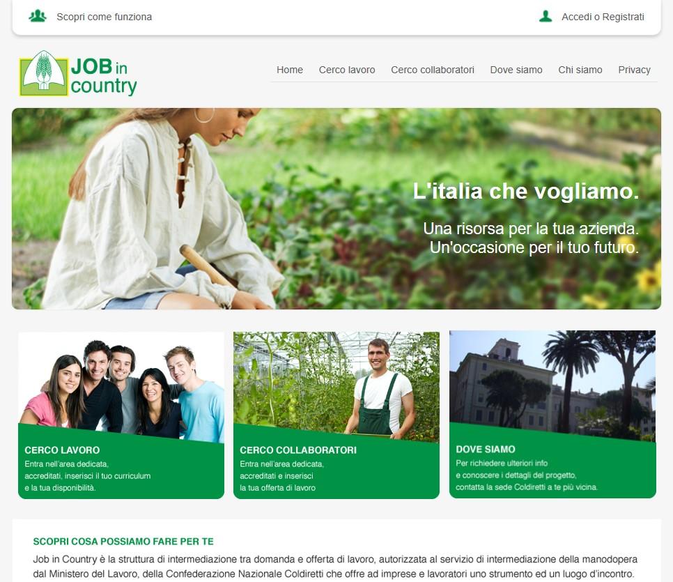 Offerte Lavoro Architetto Treviso job in country coldiretti in campo anche nella marca: apre