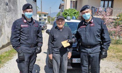 Crocetta del Montello, 86enne perde i soldi appena prelevati: glieli restituiscono i Carabinieri