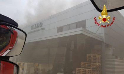 Principio d'incendio alla Valdo spumanti di Valdobbiadene: risolvono i Vigili del fuoco