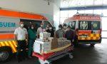 Gruppo Alpini Montebelluna, mega spiedo per ringraziare gli operatori sanitari – GALLERY
