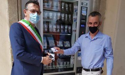 Distributore mascherine Castelfranco: ecco l'inaugurazione – FOTO