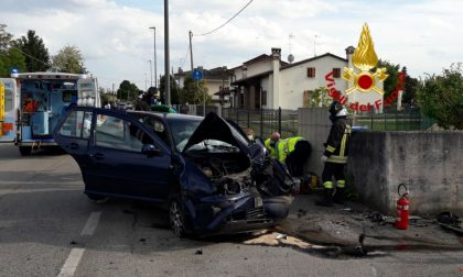 Incidente Giavera del Montello, fuori strada con l'auto: un ferito grave