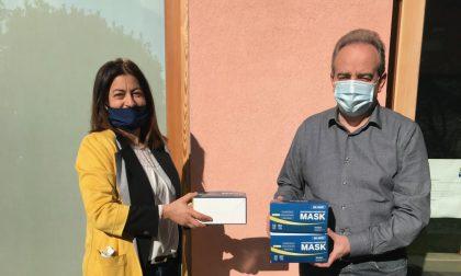 Luce in Veneto, donate 500 mascherine alla cooperativa L'Incontro