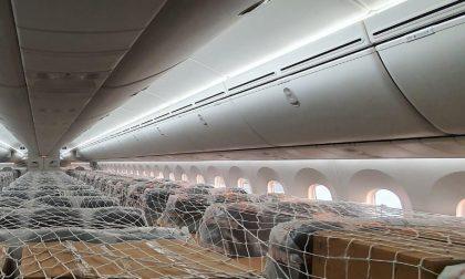 Aerei passeggeri trasformati in cargo merci: azienda di Montebelluna protagonista