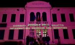 Municipio illuminato di viola, il Comune di Vedelago è con Federica Casagrande