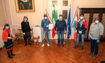 Soroptimist Club e richiedenti asilo del CEIS donano fondi per le famiglie di Vittorio Veneto