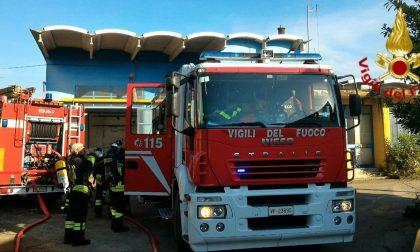 Incendio Paese, fiamme all'ex Lunazzi: domate dai Vigili del fuoco