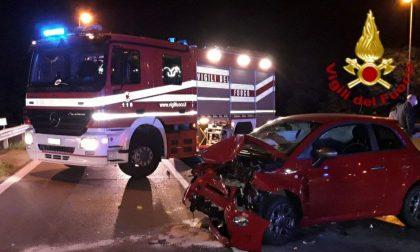 Grave incidente ieri sera all'altezza del Bricoman di San Fior: due feriti
