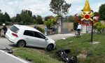 Incidente Fagarè della Battaglia, violento scontro tra auto e scooter: un ferito