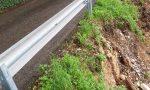 Smottamento via Groppa Montebelluna: strada chiusa al traffico per garantire la sicurezza