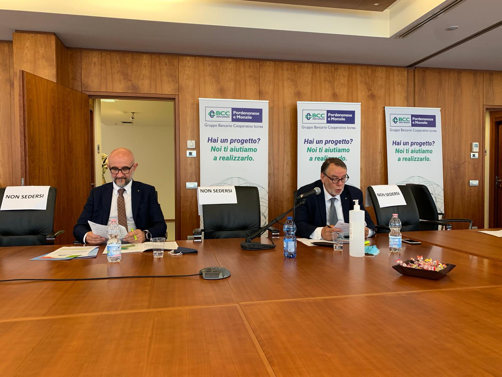 Bcc Pordenonese e Monsile: approvato dai soci il bilancio