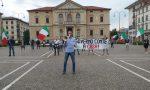 """Mascherine Tricolori, sesto sabato di protesta a Vittorio Veneto: """"Governo a casa!"""""""