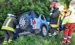 Incidente Ponzano Veneto, due auto nel fosso: un ferito