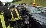 Grave incidente in A27 all'altezza di Conegliano: una persona incastrata tra le lamiere
