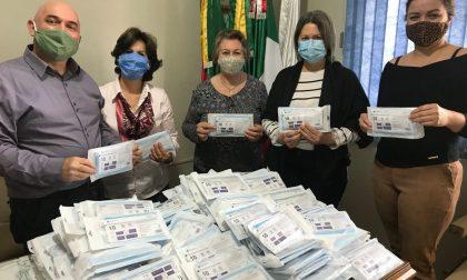 "Generosità Pederobba, donate 2.500 mascherine al comune ""gemello"" di Jacutinga"