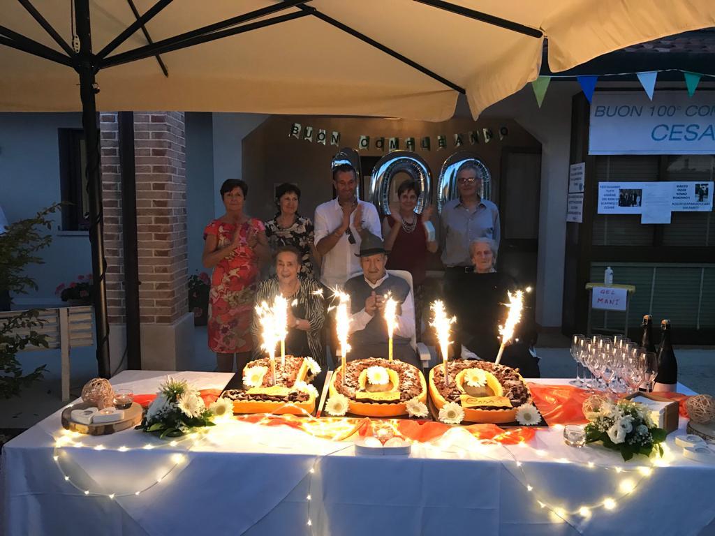 Grande festa per i 100 anni di nonno Cesare, tra gioie e ricordi di guerra - VIDEO