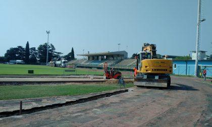 Stadio Montebelluna, la pista di atletica si rifà il look