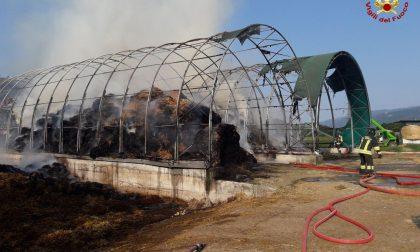 Incendio San Zenone degli Ezzelini, autocombustione accidentale: 1.500 quintali di fieno in fumo