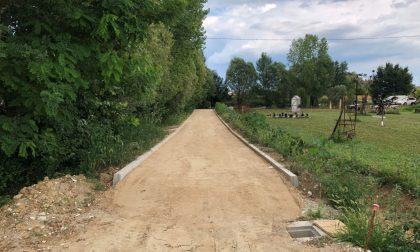 Pista ciclabile di via Roma, il tracciato si amplia verso sud: nuova area acquisita dal Comune