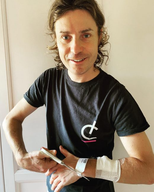"""Damiano Cunego dimesso dall'ospedale: """"Dopo quasi 60 giorni, finalmente a casa"""""""