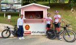 Giro d'Italia: Conti e Dombrowski in ricognizione sul muro di Ca' del Poggio