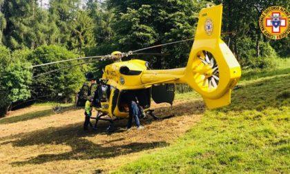 Scivola sul ghiaione, sotto shock si paralizza: soccorso 43enne di Casier