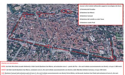 Al via gli interventi a Treviso per la salvaguardia delle mura