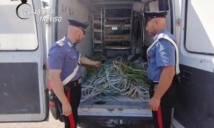 Riese Pio X, furto da 30mila euro alla ditta: ladri col furgone rubato fuggiti nei campi