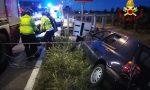 Schianto a Villorba, fuori strada con l'auto: un ferito
