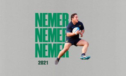 Ivan Nemer è il nuovo giocatore del Benetton Rugby, già in campo contro le Zebre