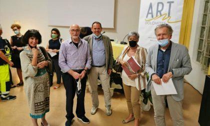 """Crocetta del Montello, primo appuntamento con la """"rivoluzione silenziosa"""" dell'arte"""