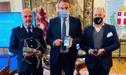 Polizia locale, a Treviso termocamere e app contro i furti
