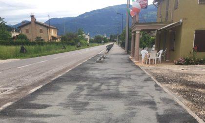Pista ciclopedonale di via Cavallea tra Onigo e Cornuda: completato anche l'ultimo tratto